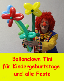 Ballonclown Tini